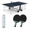 """Cornilleau Tischtennis-Tisch-Set """"100X Outdoor"""", Blau"""