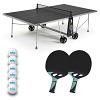 """Cornilleau Tischtennis-Tisch-Set """"100X Outdoor"""", Grau"""