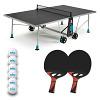 """Cornilleau Tischtennis-Tisch-Set """"200X Outdoor"""", Grau"""