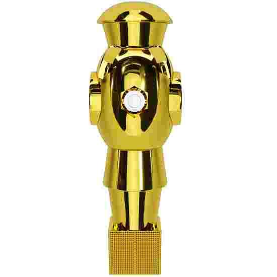 """Automaten Hoffmann Kickerfigur """"Metropolis"""" Gold"""