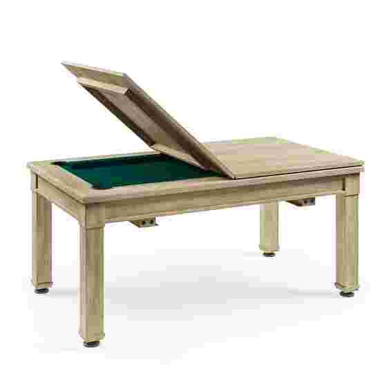 Bison Billard- und Esstisch Dolce Vita in Shabby Chic 5 ft = 184x106 cm, Grün