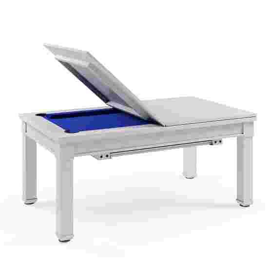 Bison Billard- und Esstisch Dolce Vita in Weiß 5 ft = 184x106 cm, Blau