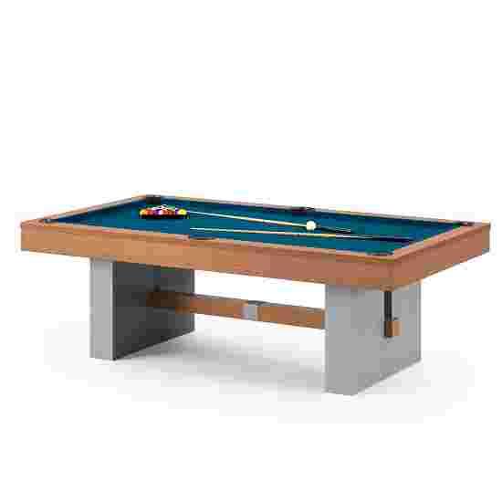 """Bison Billardtisch """"Loft Schiefer"""" 7 ft (Spielfeld 198x99 cm), Simonis 860 Tournament-Blue"""