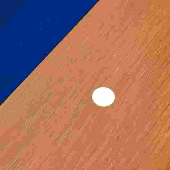 """Bison Billardtisch """"Tirol Erle"""" 7 ft = 222x126 cm, Blau"""