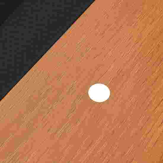 """Bison Billardtisch """"Tirol Erle"""" 7 ft = 222x126 cm, Schwarz"""