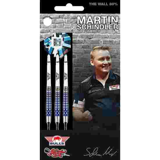 """Bull's NL Softdartpfeil """"Martin Schindler The Wall 80% PCT Blue"""" 18 g"""