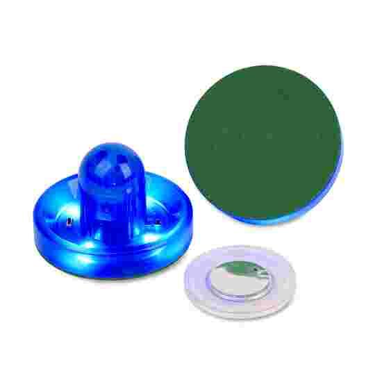 Carromco LED-Puck mit Pusher Blau