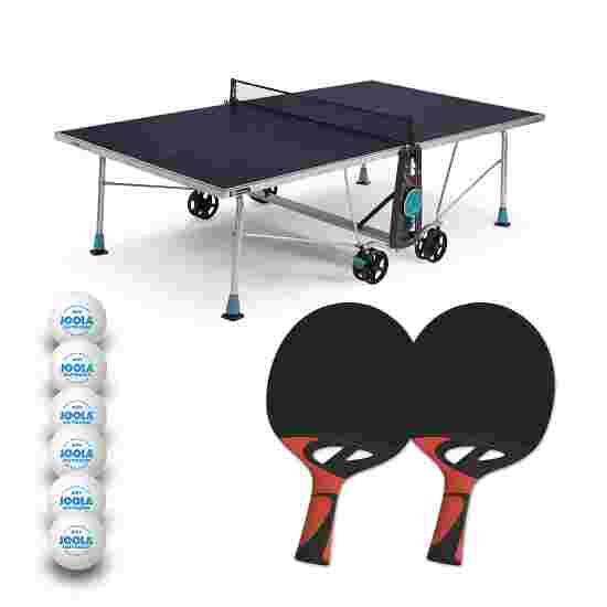 """Cornilleau Tischtennis-Tisch-Set """"200X Outdoor"""" Blau"""