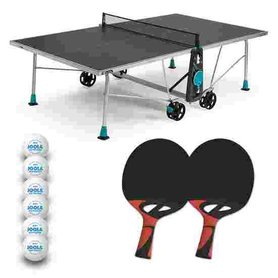 """Cornilleau Tischtennis-Tisch-Set """"200X Outdoor"""" Grau"""