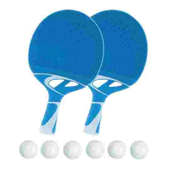 """Cornilleau Tischtennisschläger-Outdoor Set """"Tacteo 30"""" 6x Weiß"""