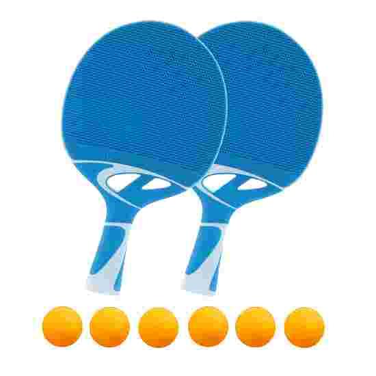 "Cornilleau Tischtennisschläger-Outdoor Set ""Tacteo 30"" 6x Orange"