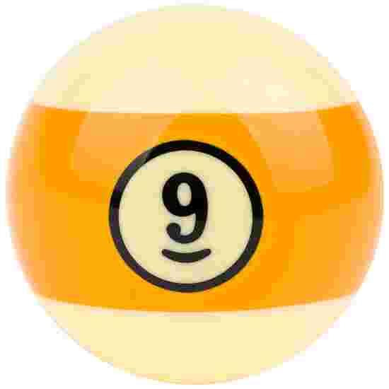 Gold Cup Billardkugel einzeln 9