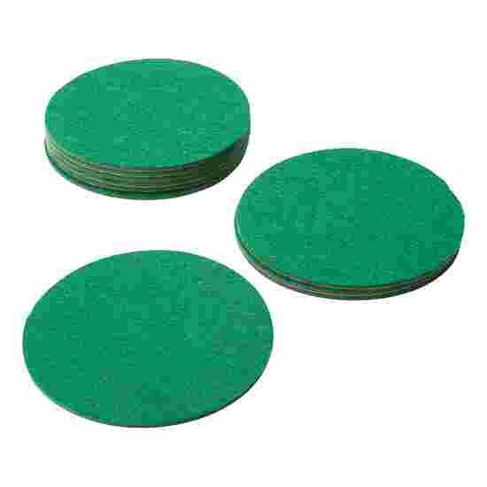 Sportime® 10 Ersatz-Filzscheiben für Airhockey-Spielgriffe 60 mm