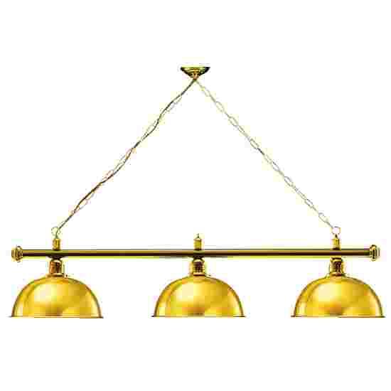 Sportime® Billardlampe London 1 Gold, Messing & Rund
