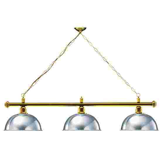 Sportime® Billardlampe London 1 Silber, Messing & Rund