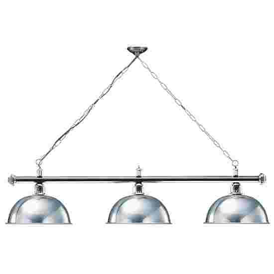 Sportime® Billardlampe London 1 Silber, Chrom & Rund