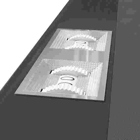 Sportime® Billardtisch Galant 7 ft = 215x118 cm, Grau