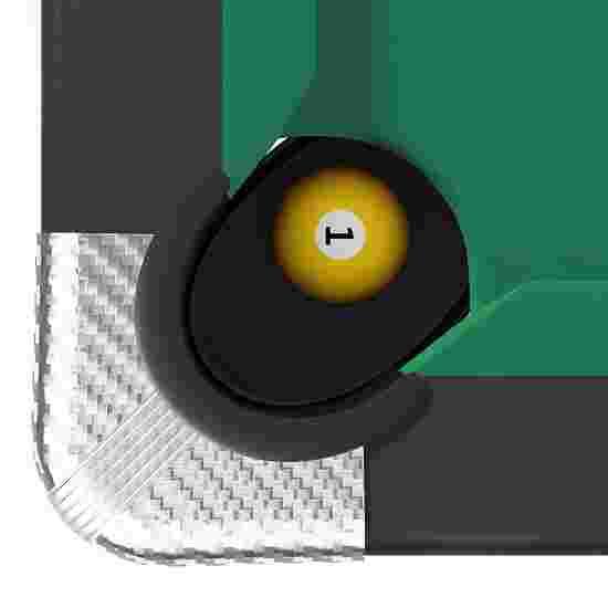 Sportime® Billardtisch Galant 7 ft = 215x118 cm, Grün