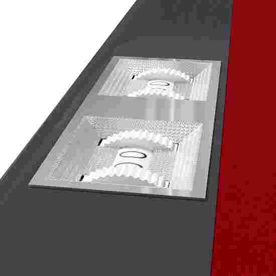 Sportime® Billardtisch Galant 7 ft = 215x118 cm, Rot