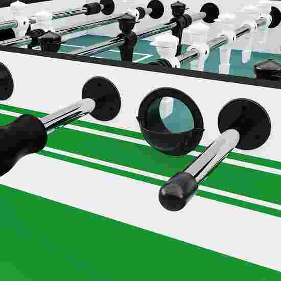 """Sportime® Bluetooth-Tischkicker """"Connect & Play"""" Vereins-Edition Grün-Weiß"""