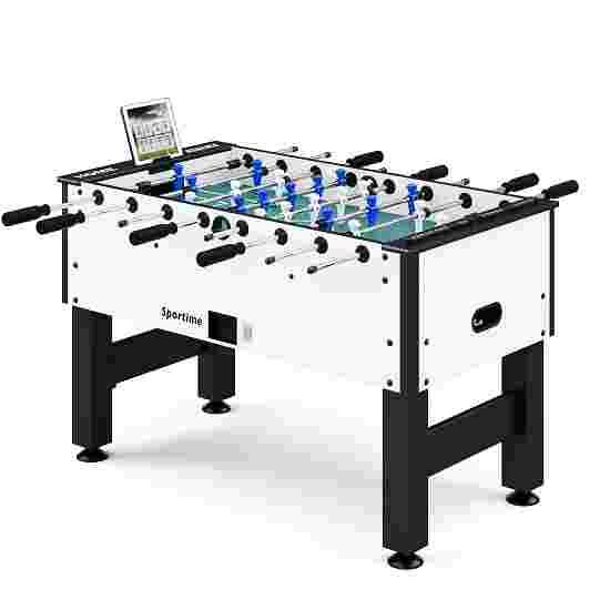 """Sportime® Bluetooth Tischkicker """"Connect & Play"""" Blau vs. Weiß"""