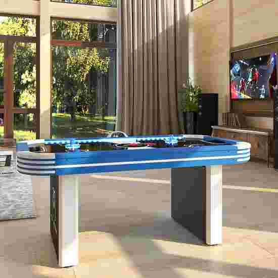 Sportime® LED-Airhockey-Tisch 5,5 ft Ice Storm Blau