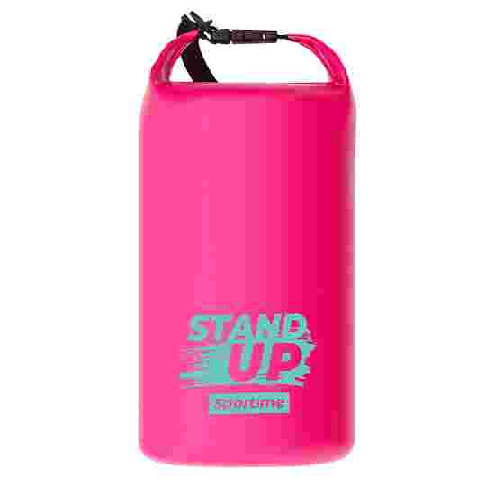 """Sportime® SUP Dry Bag """"Stand Up"""" Pink, 10 Liter"""