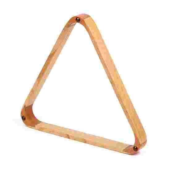 Stradivari Billard Dreieck mit Gleitern aus Holz