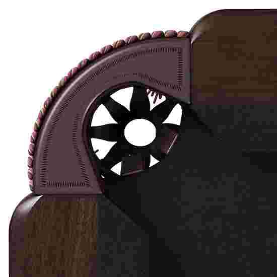 "Stradivari Billardtisch ""Windsor Classic in Mahagoni"" 8 ft (Spielfeld 224x112 cm), Simonis 860 Black"