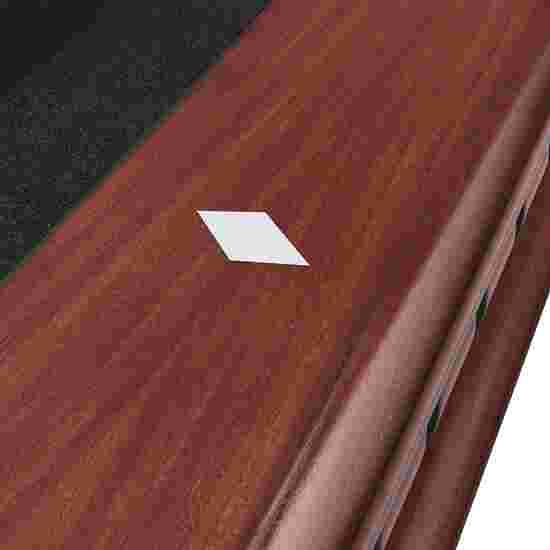 "Stradivari Billardtisch ""Windsor Modern in Nussbaum"" 8 ft (Spielfeld 224x112 cm), Simonis 860 Black"