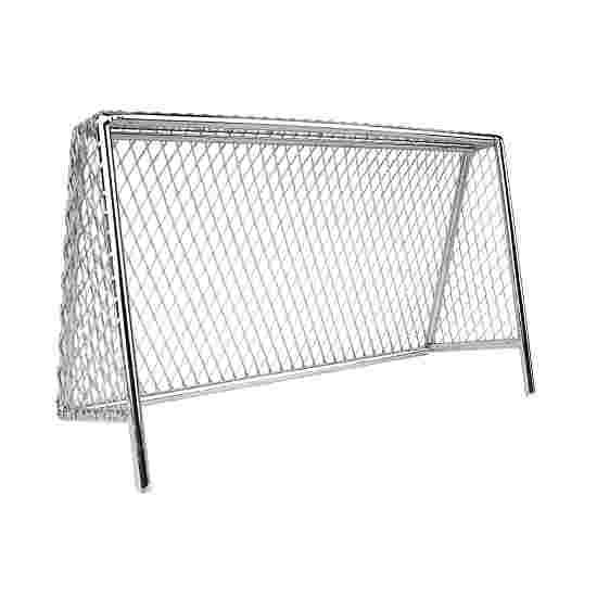 Tischfußball Ersatz Tor aus Metall verchromt