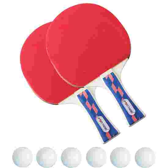 """Tischtennisschläger-Set """"Champion"""" 6x Weiß"""