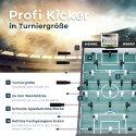 """Sportime® Bluetooth Tischkicker """"Connect & Play"""" Stadion-Edition Schwarz, Weiß"""
