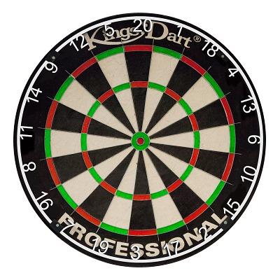 "Kings Dart® Dartscheibe ""Professional"" HD"