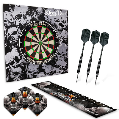 "Kings Dart® Set ""Skull 'n' Whisky"""