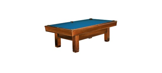 "Brunswick Billardtisch ""Bayfield"", Chestnut Tournament-Blue"