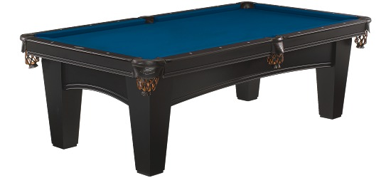 "Brunswick Billardtisch ""Bayfield"", Schwarz Electric-Blue"