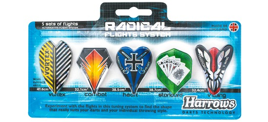 "Harrows® Flight-Set ""Radical"""