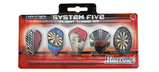 Harrows System Five Flight Tuning Kit