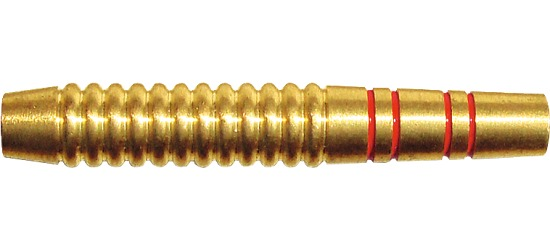Kings Dart® Dart-Barrel Messing rot-goldfarben