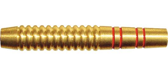 Kings Dart Dart-Barrel Messing rot-goldfarben