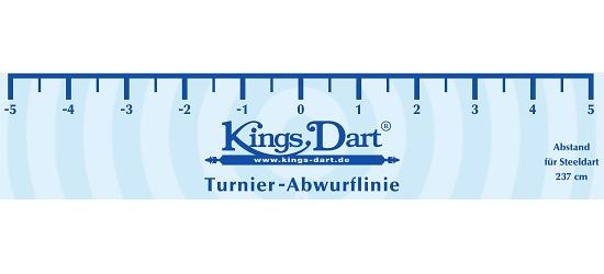Kings Dart Turnier-Abwurflinie Standard