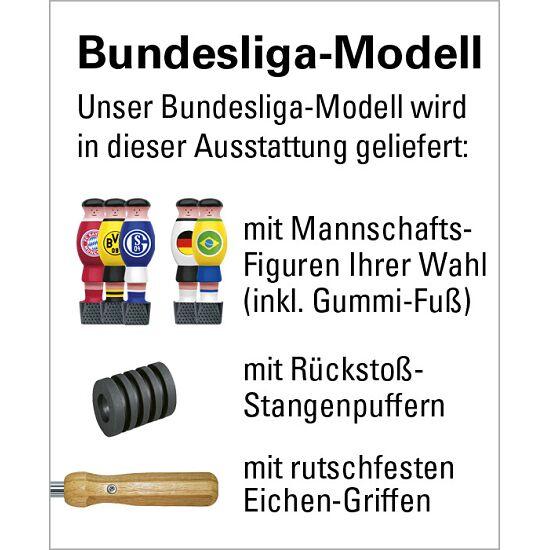 """Automaten Hoffmann Turnierkicker """"Profi"""" Bundesliga mit Münzbetrieb mit Abdeckung, 20 ct"""
