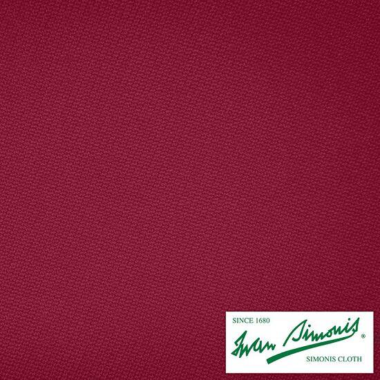 Iwan Simonis® Billardtuch 860 Burgundy