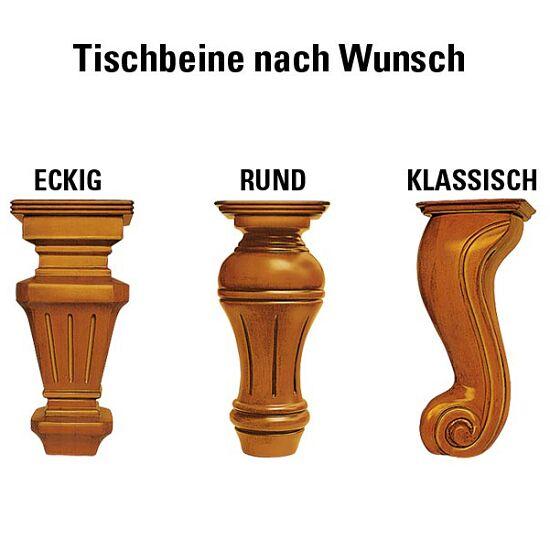 "Automaten Hoffmann Billardtisch ""Windsor"", Nussbaum 8ft, Billard-Grün, klassisch"