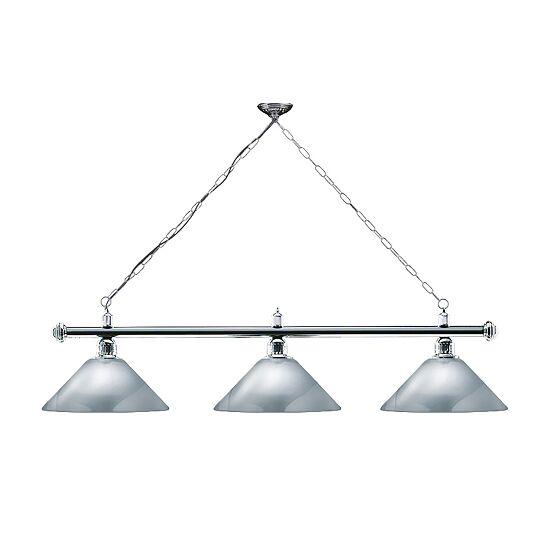 Automaten Hoffmann Billardlampe London Chrom, Silber, Trichter
