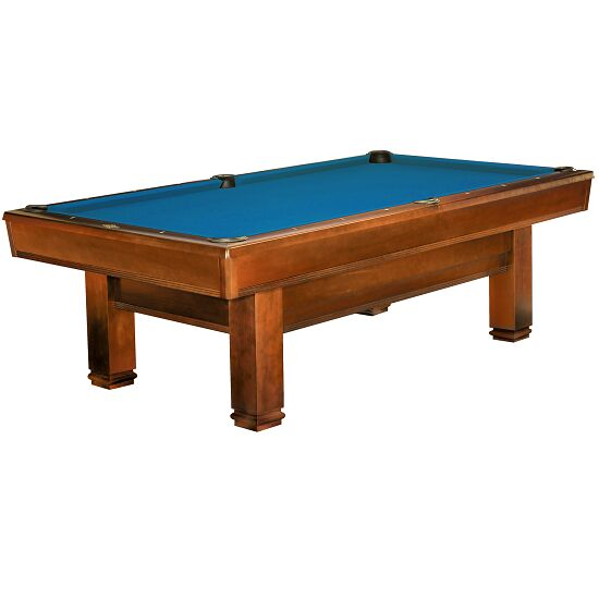 "Brunswick Billardtisch ""Bridgeport"", Chestnut Tournament-Blue"