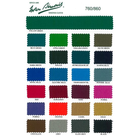 "Brunswick Billardtisch ""Bayfield"", Chestnut Yellow-Green"