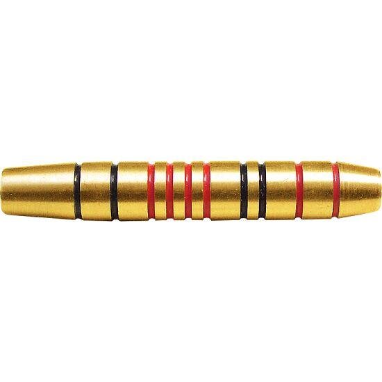 Kings Dart® Dart-Barrel Messing goldfarben rot-schwarz