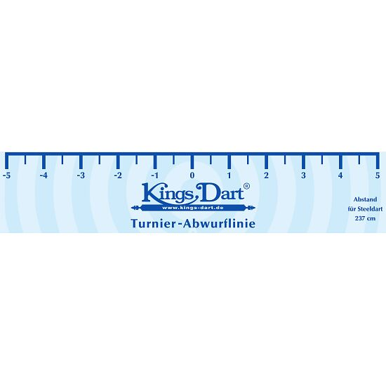 """Kings Dart® Turnier-Abwurflinie """"Standard"""""""